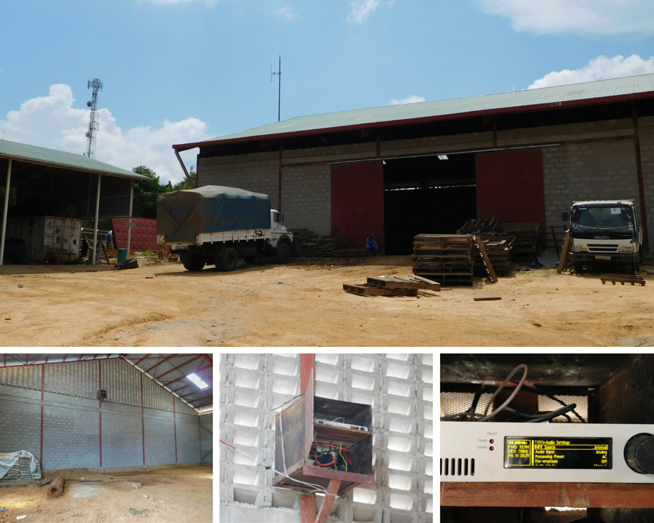 Cocoa processing plant with Umoja FM