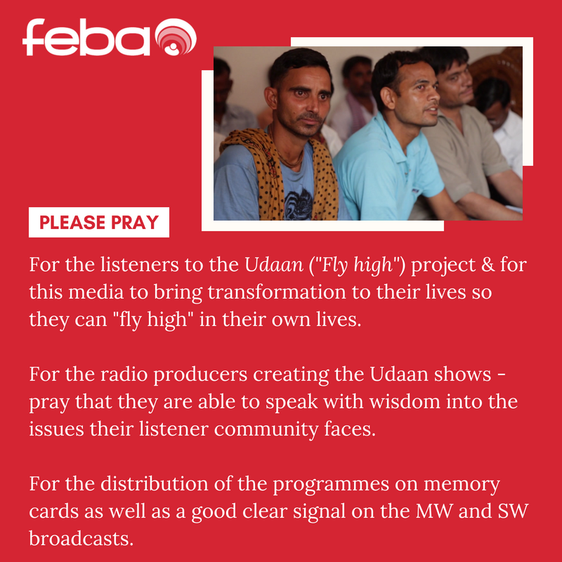 Prayer suggestions Udaan