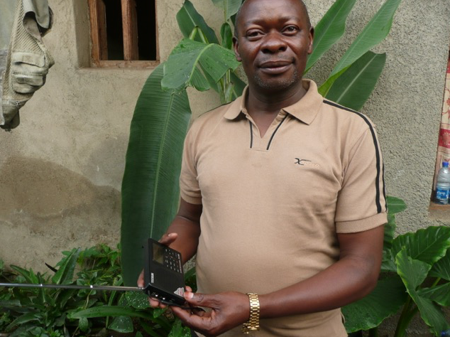 Health worker Komalungo is glad Feba is back in DRC