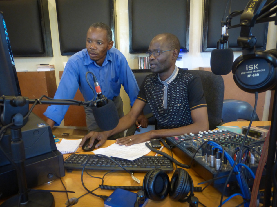 Karanda Mission Hospital Radio Studio
