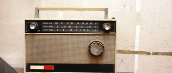 Photo of old radio