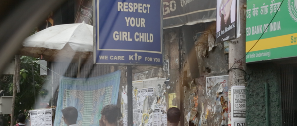 Respect your girl child sign in India