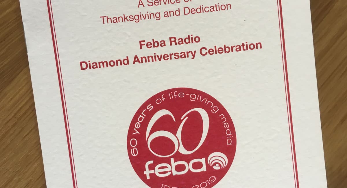 Feba's Diamond Anniversary Celebration